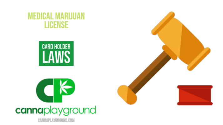 What Are the Medical Marijuana License Card Holder Laws?