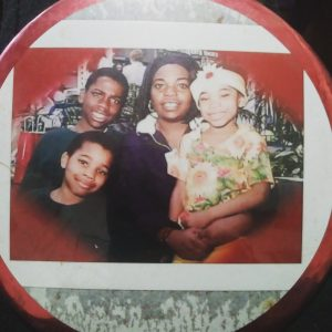 Jonathan as a child with his family