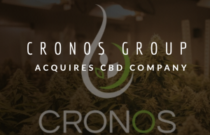 Cronos Group Acquires CBD Company